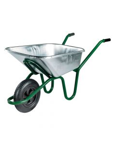 Walsall 120L Galvanised Invincible Wheelbarrow - WALIGVPDD