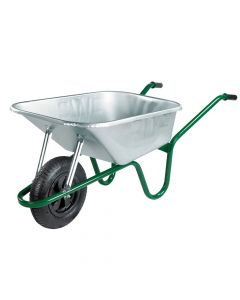 Walsall 120L Galvanised Professional Wheelbarrow - WALPGVPDD