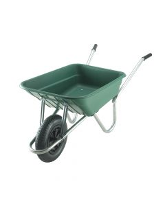 Walsall 90L Royale Green Polypropylene Wheelbarrow - WALRPP