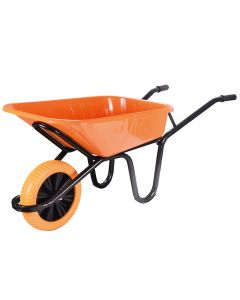 Walsall 90L Extra Heavy-Duty XL Workhorse Wheelbarrow - Puncture Proof - WALWXLOPPDD