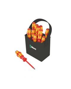Wera Kraftform Plus VDE 2go 100 Screwdriver Set of 12 SL/PH/PZ/TX - WER004310