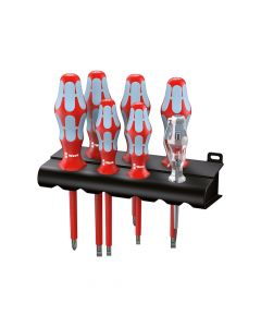 Wera Kraftform Plus VDE Stainless Steel Screwdriver Set of 7 SL/PH - WER022728