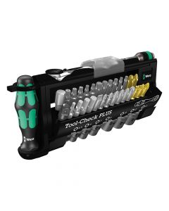 Wera Tool-Check Plus Tool Set of 39 1/4in Drive - WER056490