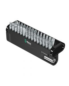 Wera Bit-Check 30 Metal Bit Set of 30 PZ PH TX SL Hex - WER057434