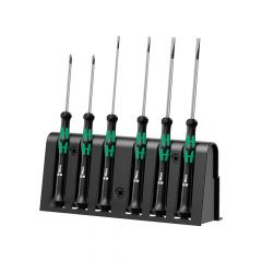 Wera Kraftform 2035/6 Micro Screwdriver - Set of 6 SL/PH - WER118150