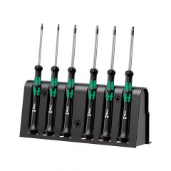 Wera Kraftform 2067 Micro Screwdriver Set of 6 TX - WER118154