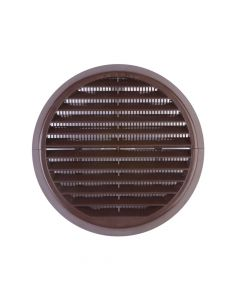 Xpelair Wall Grille Brown Round 100mm - XPL93133AB