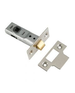 Yale M888 Tubular Mortice Latch 76mm 3in Chrome Pack of 1 - YALPM888ZP30