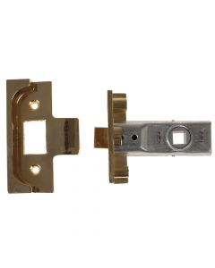 Yale M999 Rebate Tubular Latch 64mm 2.5 in Polished Brass Finish - YALPM999PB64