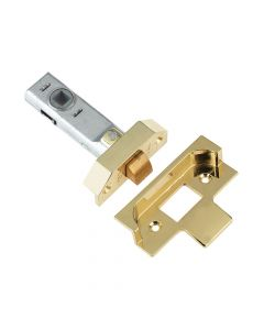 Yale M999 Rebate Tubular Latch 76mm 3in Polished Brass Finish - YALPM999PB76