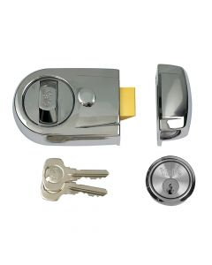 Yale Y3 Nightlatch Modern 60mm Backset Polished Chrome Finish Visi - YALY3CHCH60
