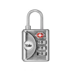 Yale YTP1 TSA Combination Padlock 32mm - YALYTP132