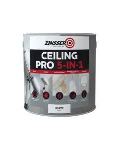 Zinsser Ceiling Pro 5-in-1, 2.5 Litre - ZINCP5125L