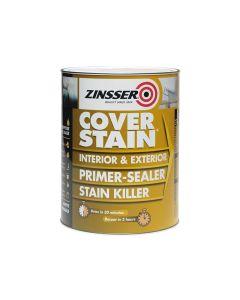 Zinsser Cover Stain Primer - Sealer 1 Litre - ZINCSP1L