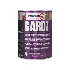 Zinsser Gardz Sealer Primer 500ml - ZINGS500