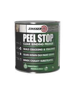 Zinsser Peel Stop Clear Binding Primer Paint 1 Litre - ZINPSP1L