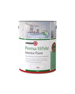 Zinsser Perma-White Interior Paint Matt 2.5 Litre - ZINPWES25L