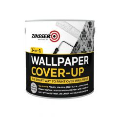 Zinsser Wallpaper Cover-Up, 2.5 Litre - ZINWCU25L
