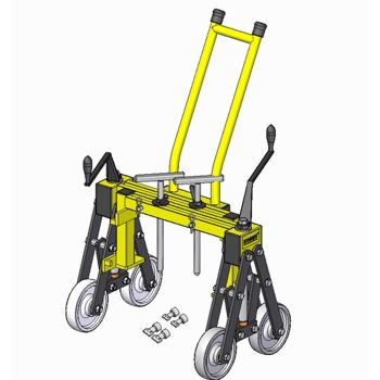 Monument Kobus Manhole Cover Lifter with Trolley Handle - MON1049C