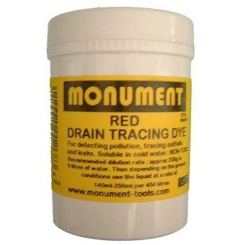 Monument 4oz Red Drain Dye - MON1261V