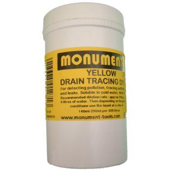 Monument 4oz Yellow Drain Dye - MON1265H