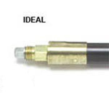 Monument 6ft.X 1in. Ideal Poly Drain Rod - MON1407R