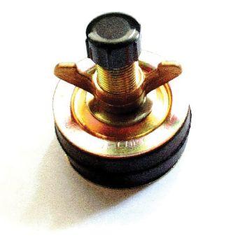 Monument 12in.X 1in. Pressed Steel Drain Plug - MON925J