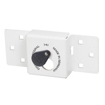 ABUS Van Lock 141/200 White With Fixings