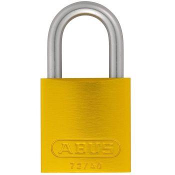 ABUS Aluminium 72LL/40 Love Lock Yellow