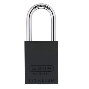 ABUS Titalium 83AL/40 Black Without Cylinder