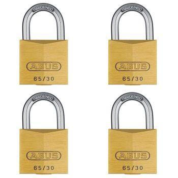 ABUS Premium 65/30 Quad Pack