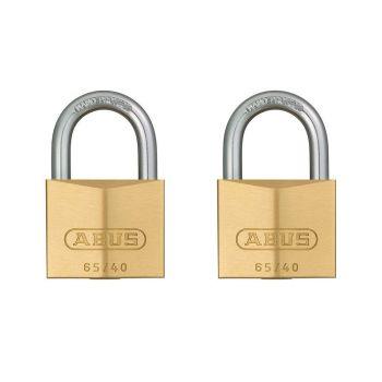 ABUS Premium 65/40 Twin Pack