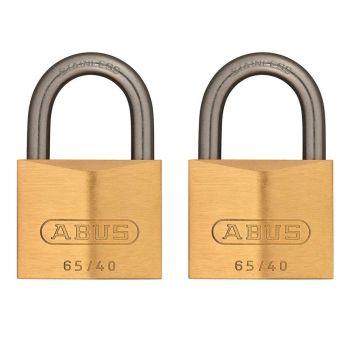 ABUS Premium 65IB/40 Twin Pack