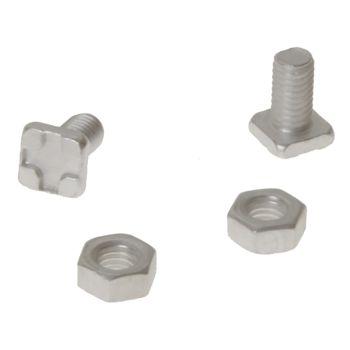 ALM Manufacturing Square Glaze Bolts & Nuts Pack of 20 - ALMGH004