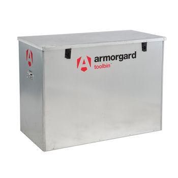 Armorgard TOOLBIN Galvanised Storage Box 1165 x 560 x 860mm - ARMGB3