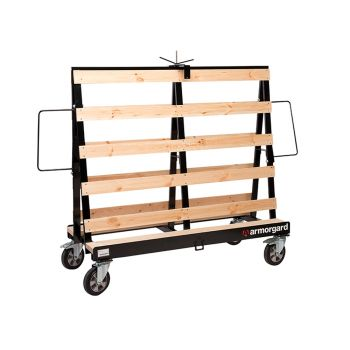 Armorgard LoadAll Board Trolley 1500kg Capacity 900 x 2100 x 1550mm - ARMLA1500