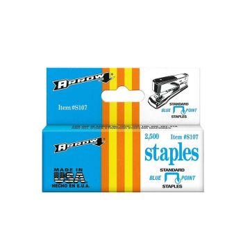 """Arrow S107 Blue Point Staples 1/4"""" - S107"""