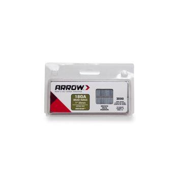 Arrow Brad Nails 25mm Brown (2000 Box) - BN1816B