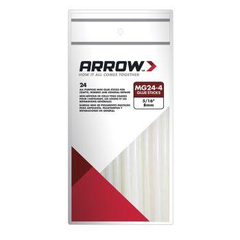 "Arrow MG24 4"" Glue Sticks (24 Pack) - MG24"