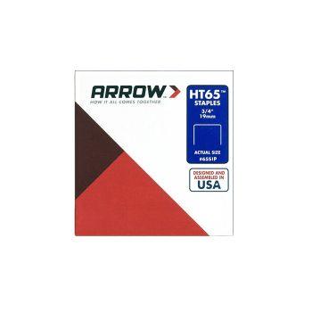 "Arrow HT65 3/4""-19mm Staples (Approx 2496 Box) - 65SIP"