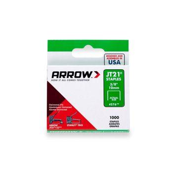 "Arrow JT21 Staples 10mm 3/8"" (1000 Box) - 276"
