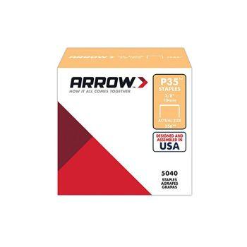 "Arrow P35 Staples 10mm 3/8"" (Approx 5000 Box) - 356"