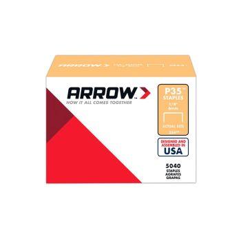 "Arrow P35 Staples 6mm 1/4"" (Approx 5000 Box) - 354"