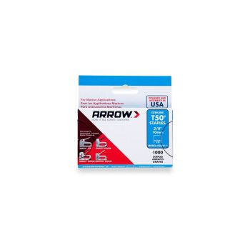 "Arrow T50 Monel Staples 10mm 3/8"" (1000 Box) - 506M1"