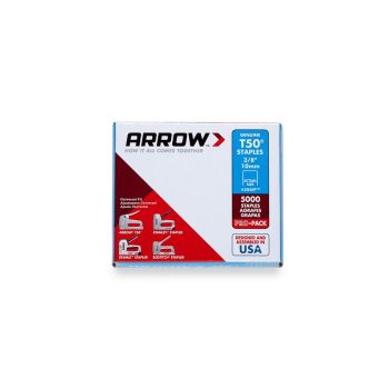 "Arrow T50 Staples Bulk 10mm 3/8"" (Approx 5000 Box) - 506IP"