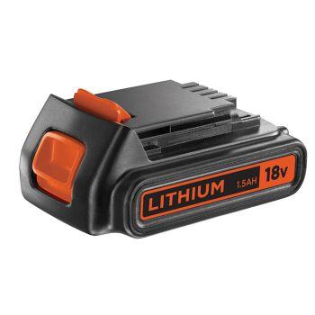 Black & Decker Slide Battery Pack 18V 1.5Ah Li-Ion BL1518 - B/DBL1518