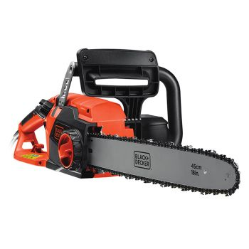 Black & Decker Corded Chainsaw 45cm Bar 2200W 240V - B/DCS2245