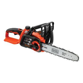 Black & Decker 20 Cordless Chainsaw 30cm Bar 36V 1 x 2.0Ah Li-Ion - B/DGKC3630L2