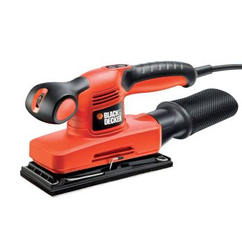 Black & Decker 1/3rd Sheet Variable Speed Orbital Sander 240W 240V - B/DKA320EKA