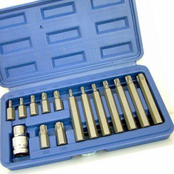BlueSpot Tools TORX Bit Set, 15 Piece - B/S1511